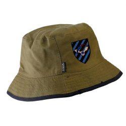 כובע רפול דייגים כותנה דו צדדי זית ,שחור (Copy)